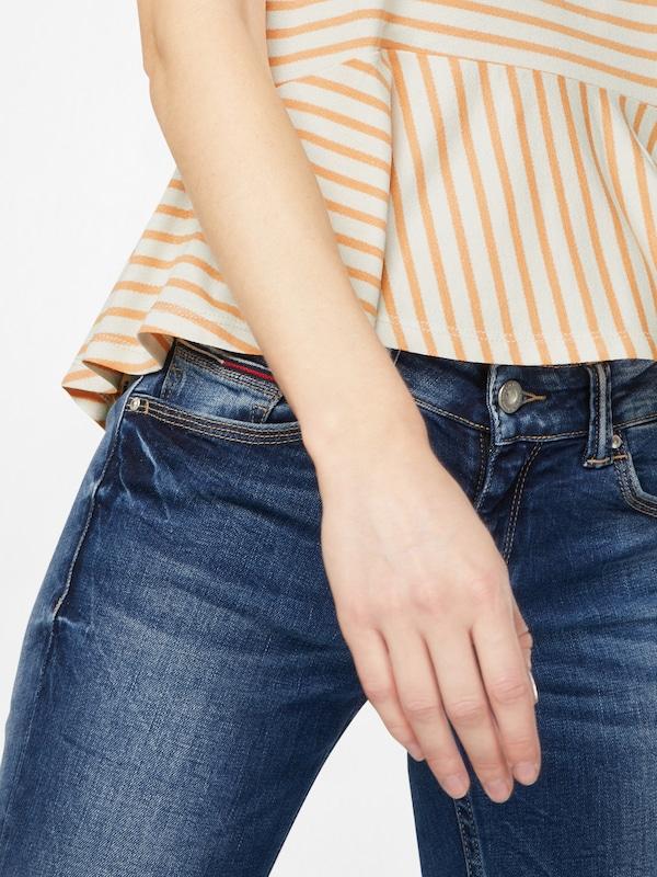 Tommy Jeans T-Shirt 'PEPLUM TEE'