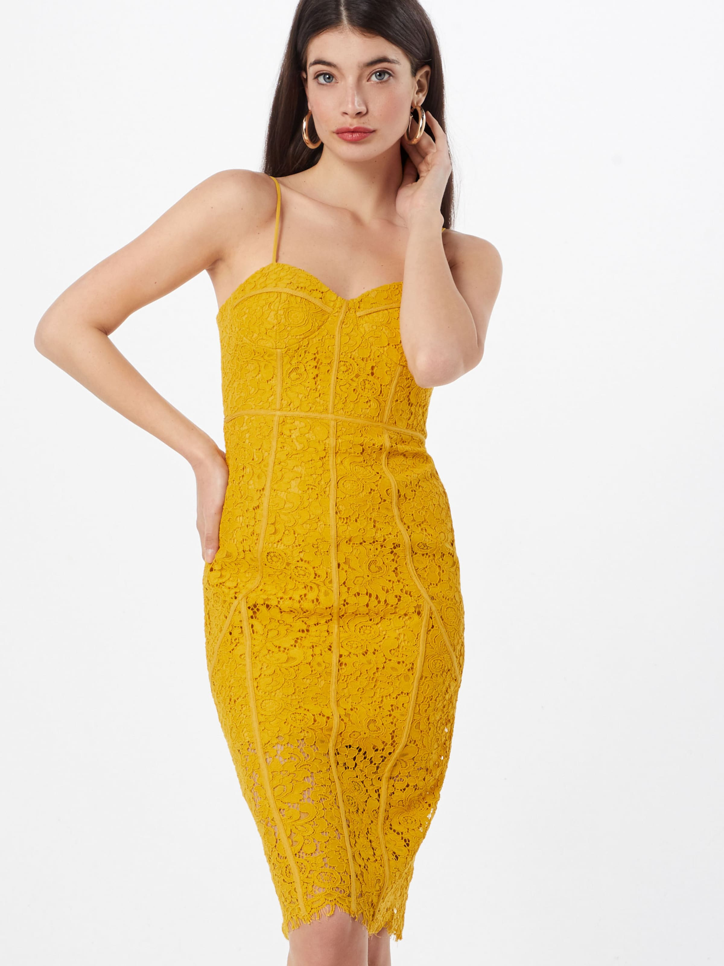 Lace' Jaune 'sophia En Bardot Robe thsQrxdC