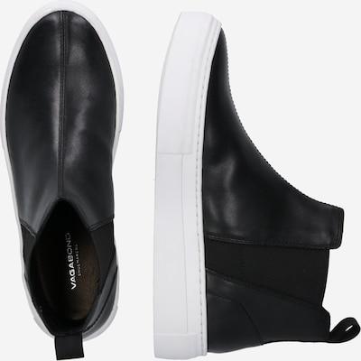 Chelsea batai 'Zoe Platform' iš VAGABOND SHOEMAKERS , spalva - juoda / balta: Vaizdas iš šono