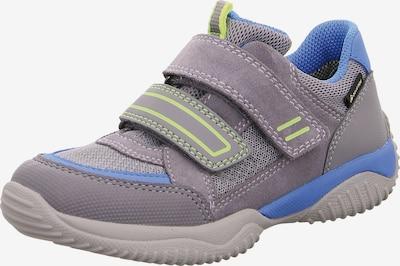 SUPERFIT Sneaker 'Storm' in himmelblau / graumeliert, Produktansicht
