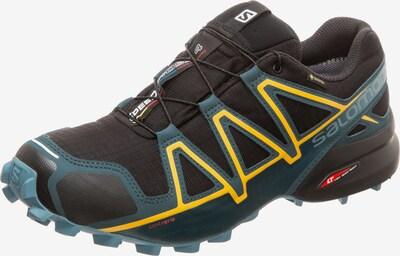 SALOMON Laufschuh 'Speedcross 4 GTX Trail' in blau / gelb / schwarz, Produktansicht