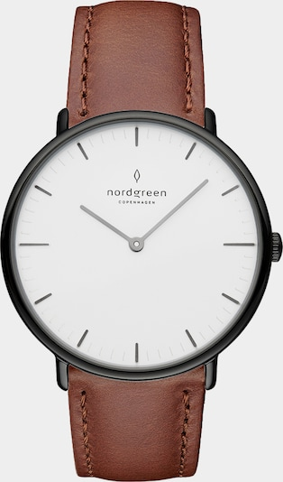 Nordgreen Analoog horloge in de kleur Bruin, Productweergave