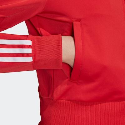 ADIDAS ORIGINALS Trainingsjacke in rot / weiß, Produktansicht