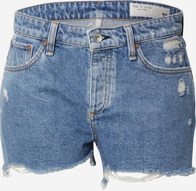 rag & bone Jeans 'Dre Low' in blue denim, Produktansicht