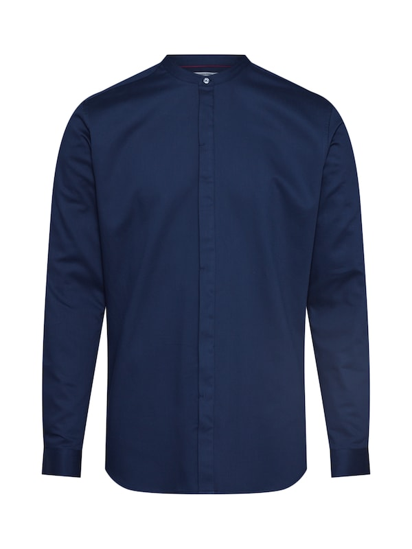 JACK & JONES Overhemd 'JPRANTONIO BAND SHIRT L/S' in de kleur Navy, Productweergave