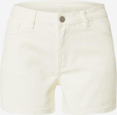 Jeans VILA pe offwhite: Privire frontală