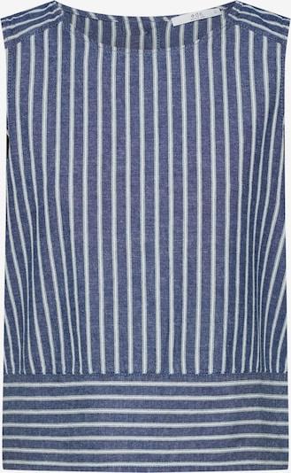 EDC BY ESPRIT Bluse in navy / weiß, Produktansicht