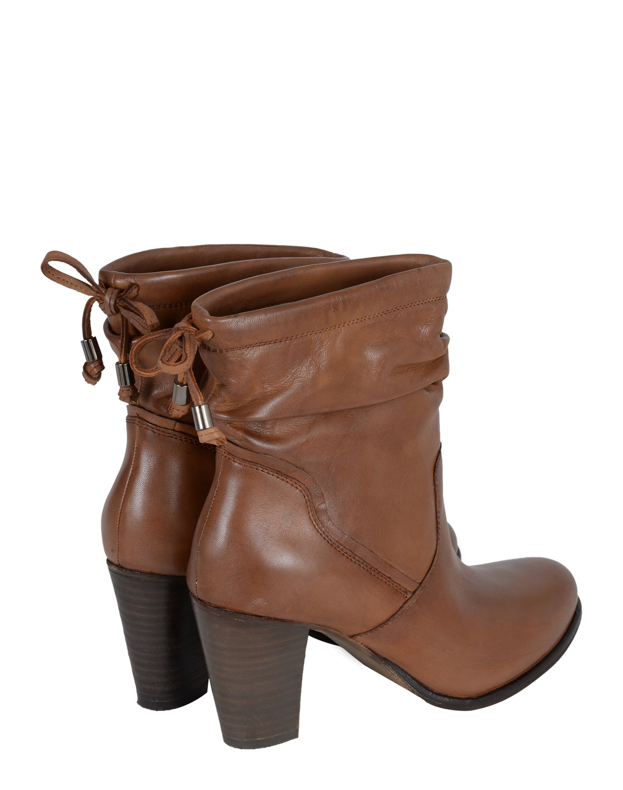 Ankle Boots Aus Spm Leder BraunCognac 'giovana' In H9YW2IED