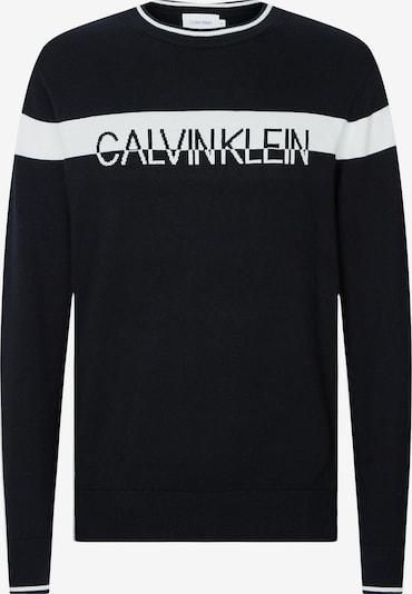 Calvin Klein Pullover in schwarz / weiß, Produktansicht
