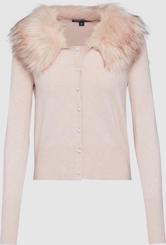 COMMA Strickjacke in rosé  Markenkleidung für Männer und Frauen