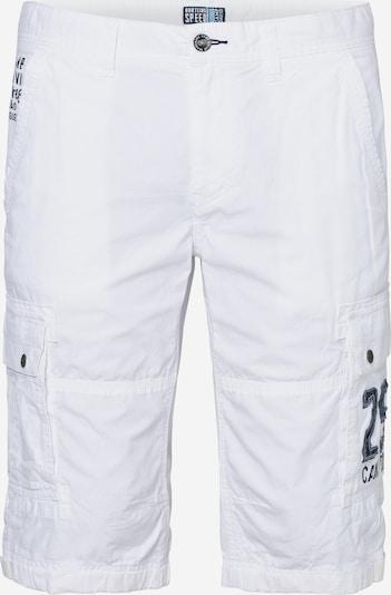 Laisvo stiliaus kelnės iš CAMP DAVID , spalva - balta, Prekių apžvalga