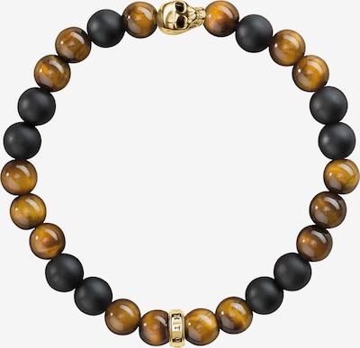 Thomas Sabo Armband in braun / schwarz, Produktansicht