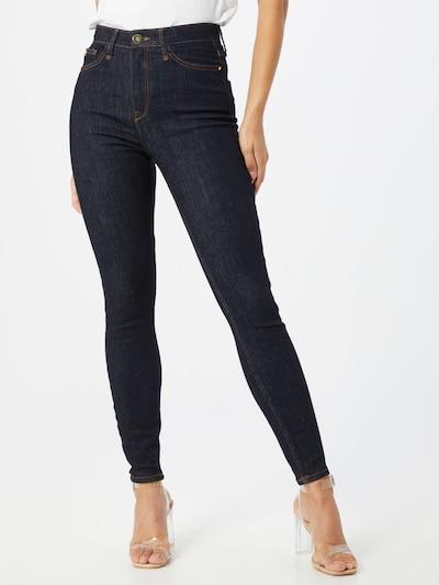River Island Jeans 'HAILEY HIGH RISE MAYWEATHERSL' in de kleur Blauw denim, Modelweergave
