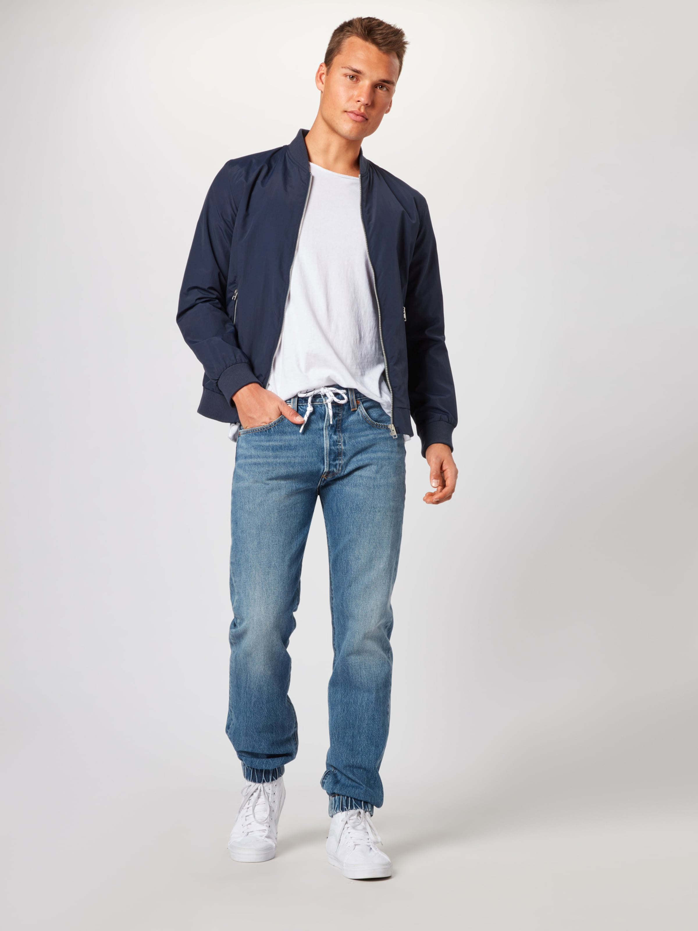 Denim Levi's In Jeans Blue '501jogger' bgv76fYy