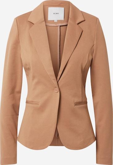 ICHI Blazer 'Kate' en marron, Vue avec produit