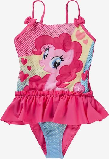 MY LITTLE PONY Badeanzug in hellblau / hellgelb / pink / rosa, Produktansicht