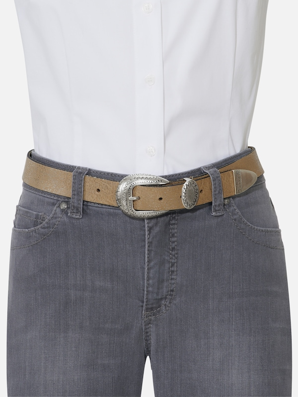 Heine Close Belt With Embossed