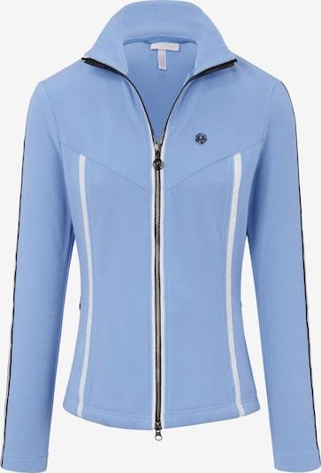 Sportalm Kitzbühel Fleecejacke mit Stehkragen in hellblau, Produktansicht