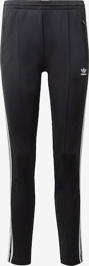 Pantaloni 'Primeblue Sst' ADIDAS ORIGINALS pe negru / alb, Vizualizare produs