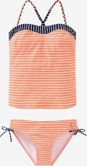 SCHIESSER Tankini in orange / weiß, Produktansicht