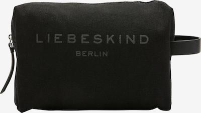 Liebeskind Berlin Trousse de maquillage 'JUCosmM' en noir, Vue avec produit