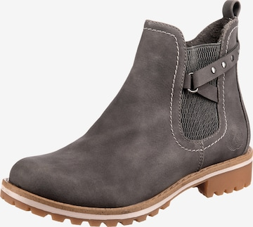 JANE KLAIN Chelsea Boots in Grau