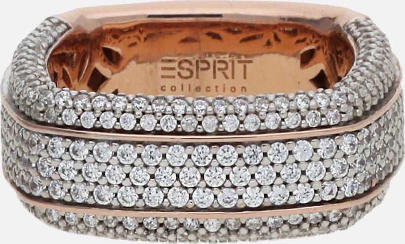 ESPRIT Fingerring Algea mit Zirkonia-Steinbesatz ELRG92385B