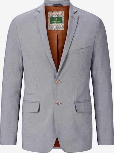 Charles Colby Veste de costume 'Dene' en bleu marine / blanc, Vue avec produit