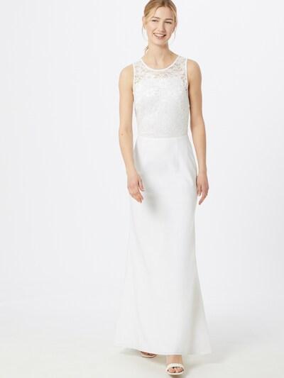 SWING Společenské šaty - krémová, Model/ka