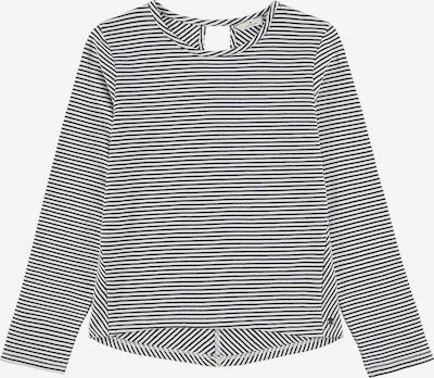 TOM TAILOR Sweatshirt in nachtblau / weiß, Produktansicht