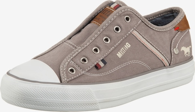 MUSTANG Slip-On-Sneaker in grau, Produktansicht