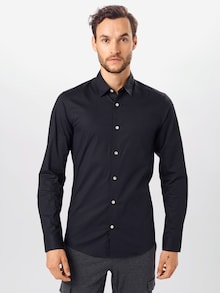 Only & Sons Camicia 'BART LIFE' nera