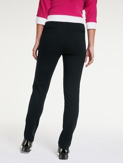 heine Spodnie w kolorze czarnym: Widok od tyłu