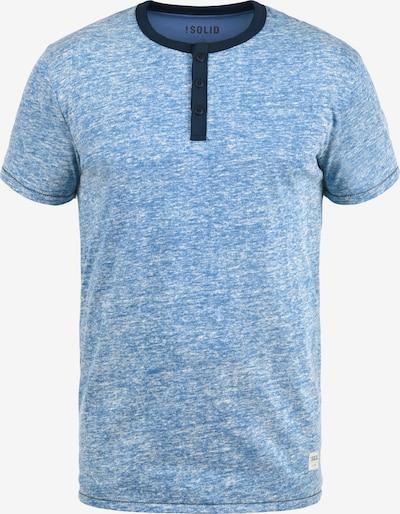 !Solid Rundhalsshirt 'Telia' in blau: Frontalansicht