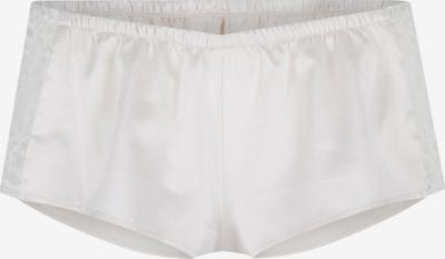 LingaDore Shorty 'MONTE' en blanc perle, Vue avec produit