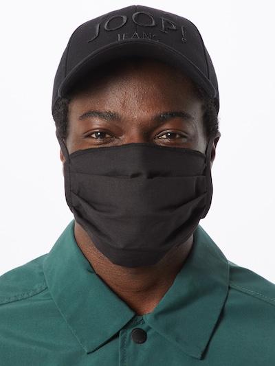 Mister Tee Stoffmasken 3er Pack in schwarz: Frontalansicht