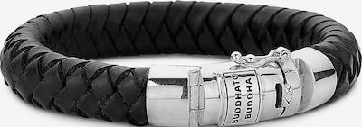 Buddha to Buddha Armband 'Ben' in schwarz / silber, Produktansicht