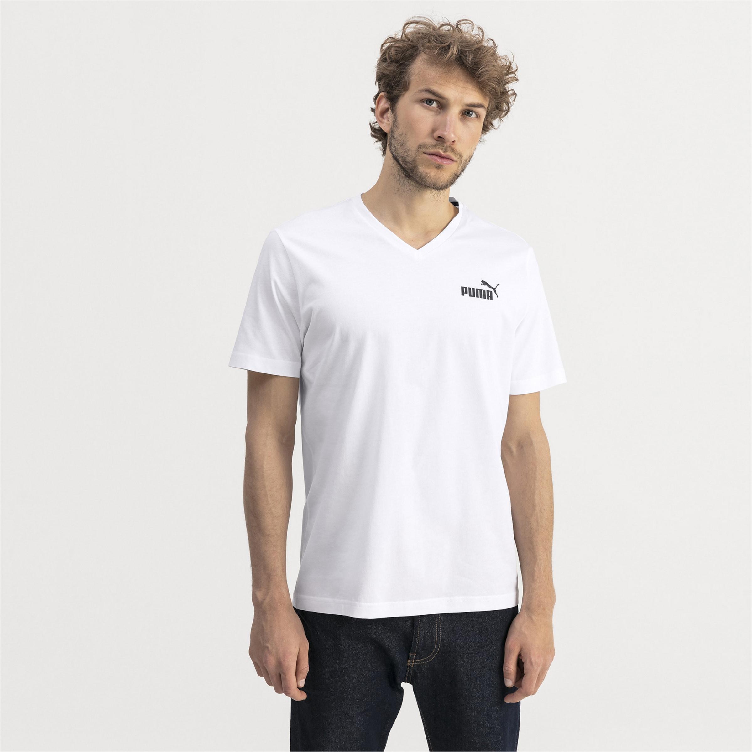 'essentials' shirt Puma T SchwarzWeiß In iZTOkXPu
