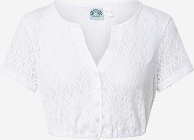 HAMMERSCHMID Bluzka ludowa 'Carina' w kolorze białym, Podgląd produktu