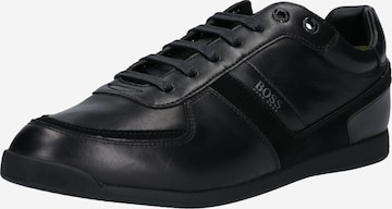 Baskets basses 'Glaze' BOSS Casual en noir
