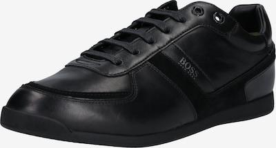 BOSS Trampki niskie 'Glaze' w kolorze czarnym, Podgląd produktu