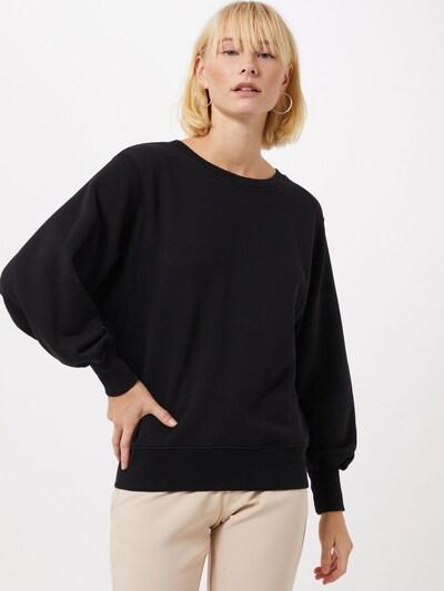 AMERICAN VINTAGE Bluzka sportowa 'Fobye' w kolorze czarnym, Podgląd na modelu(-ce)