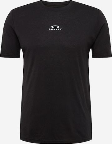 melns OAKLEY Sporta krekls 'BARK NEW SS'