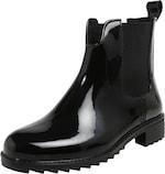Kurzer RIEKER Stiefel in schwarz
