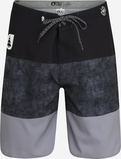 Pantaloni de baie Picture Organic Clothing pe albastru închis / gri / negru, Vizualizare produs
