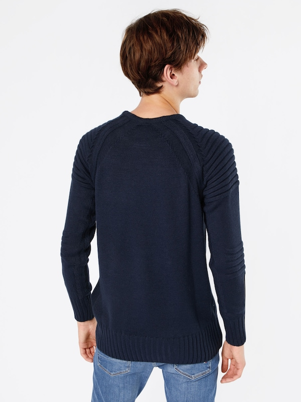 Key Largo Strickpullover 'CUBE'