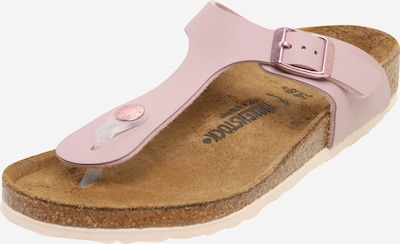 BIRKENSTOCK Schuhe 'Gizeh' in altrosa, Produktansicht