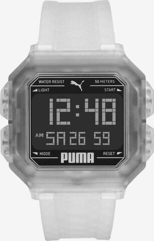 PUMA Uhr 'Remix, P5036' in Transparent