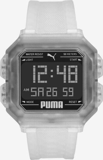 PUMA Uhr 'Remix, P5036' in transparent, Produktansicht