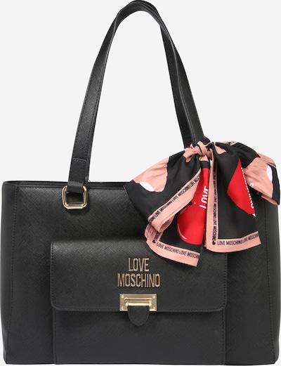 Love Moschino Shopper 'BORSA SAFFIANO PU NERO' in schwarz, Produktansicht